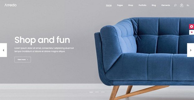 Arredo is a perfectWordPress theme for online furniture shops.