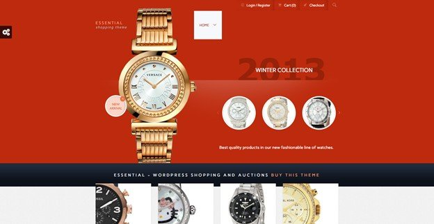 Essential is a powerful auction theme for WordPress.
