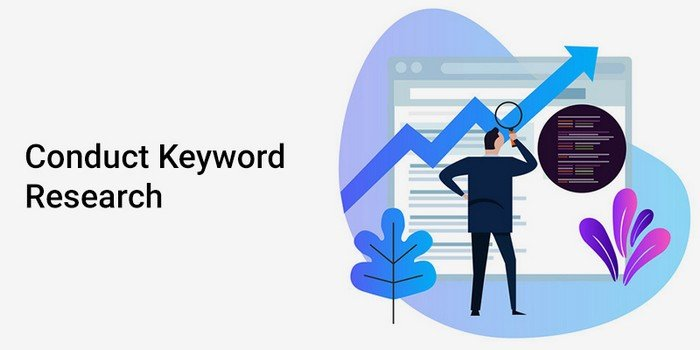 Find keywords with high traffic volume and use them on your website naturally