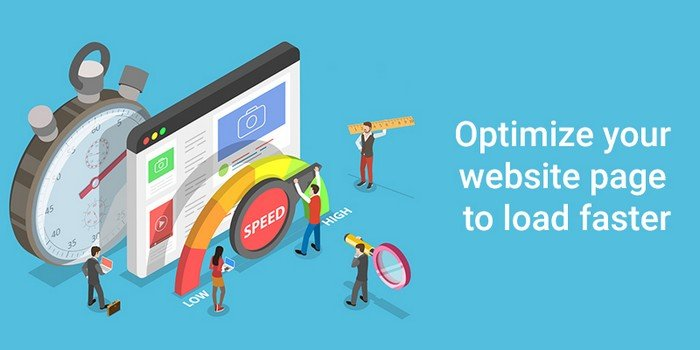 Optimize your website to load faster.
