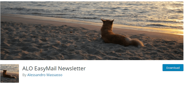 With ALO Easy Email Newsletter you can create and send newsletters.
