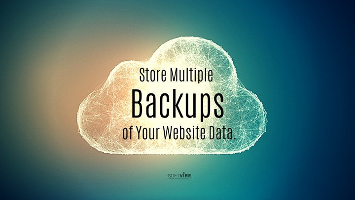 Secure Your WordPress Website - You can employ different backup methods.