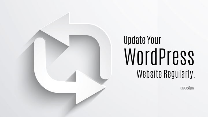 WordPress is open-source software that is frequently updated.