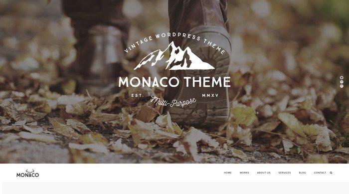 Monaco is a multi-purpose WordPress Theme by ZookaStudio