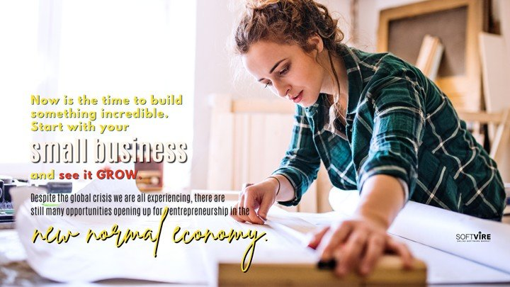 Small businesses in the new normal are not just trending but saving a recovering world economy.